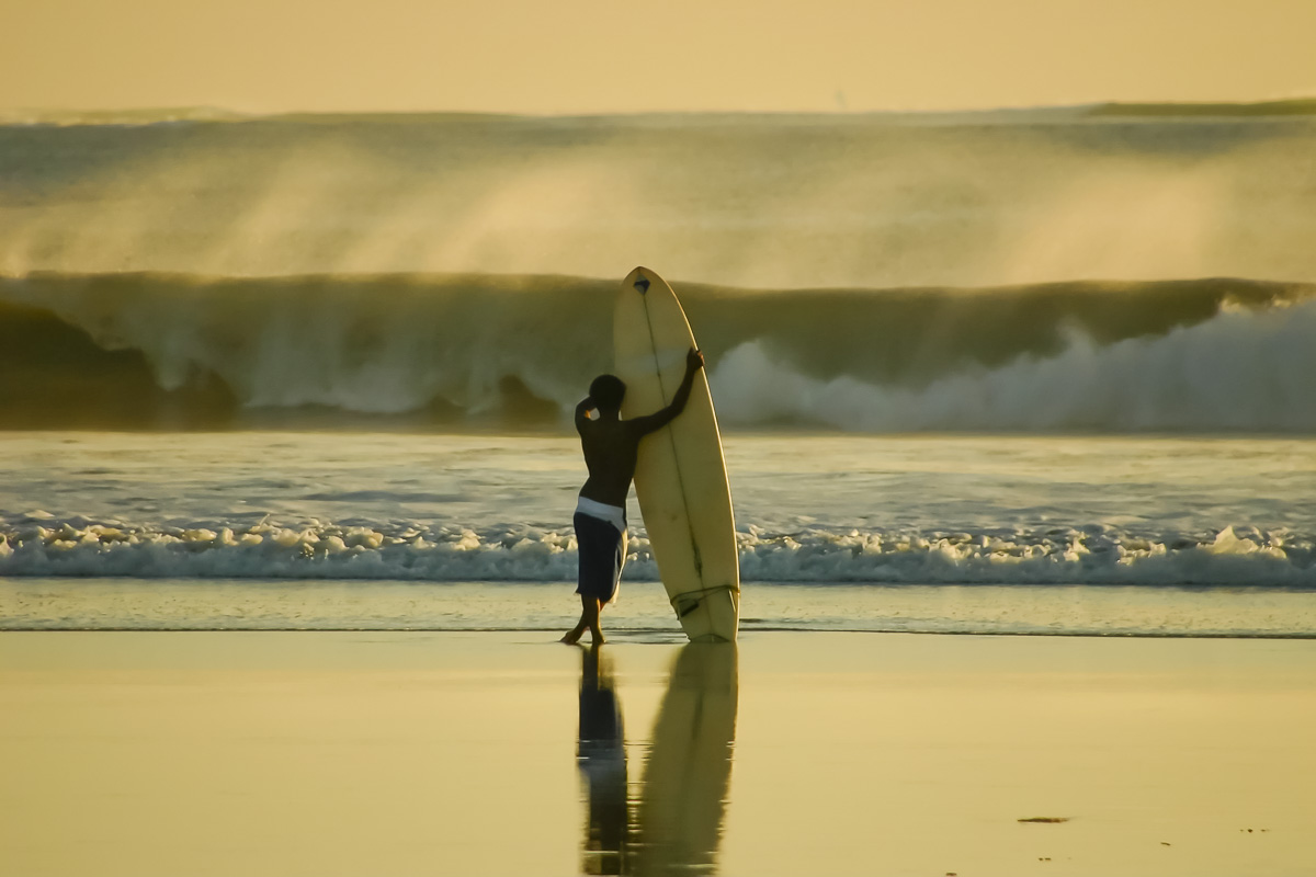 things to do in bali surfing