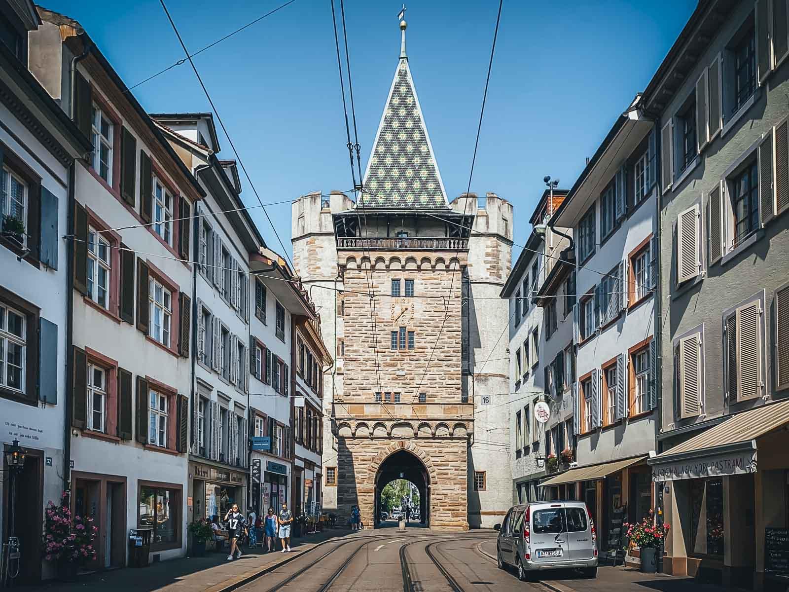 Old City Gates of Basel