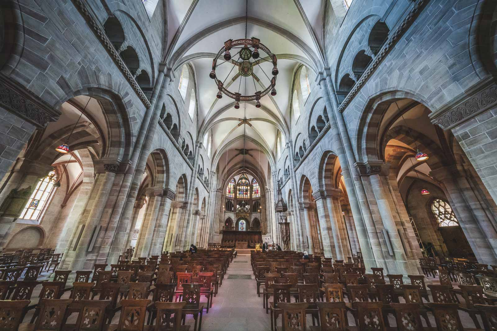 Explore the Basle Munster Cathedral