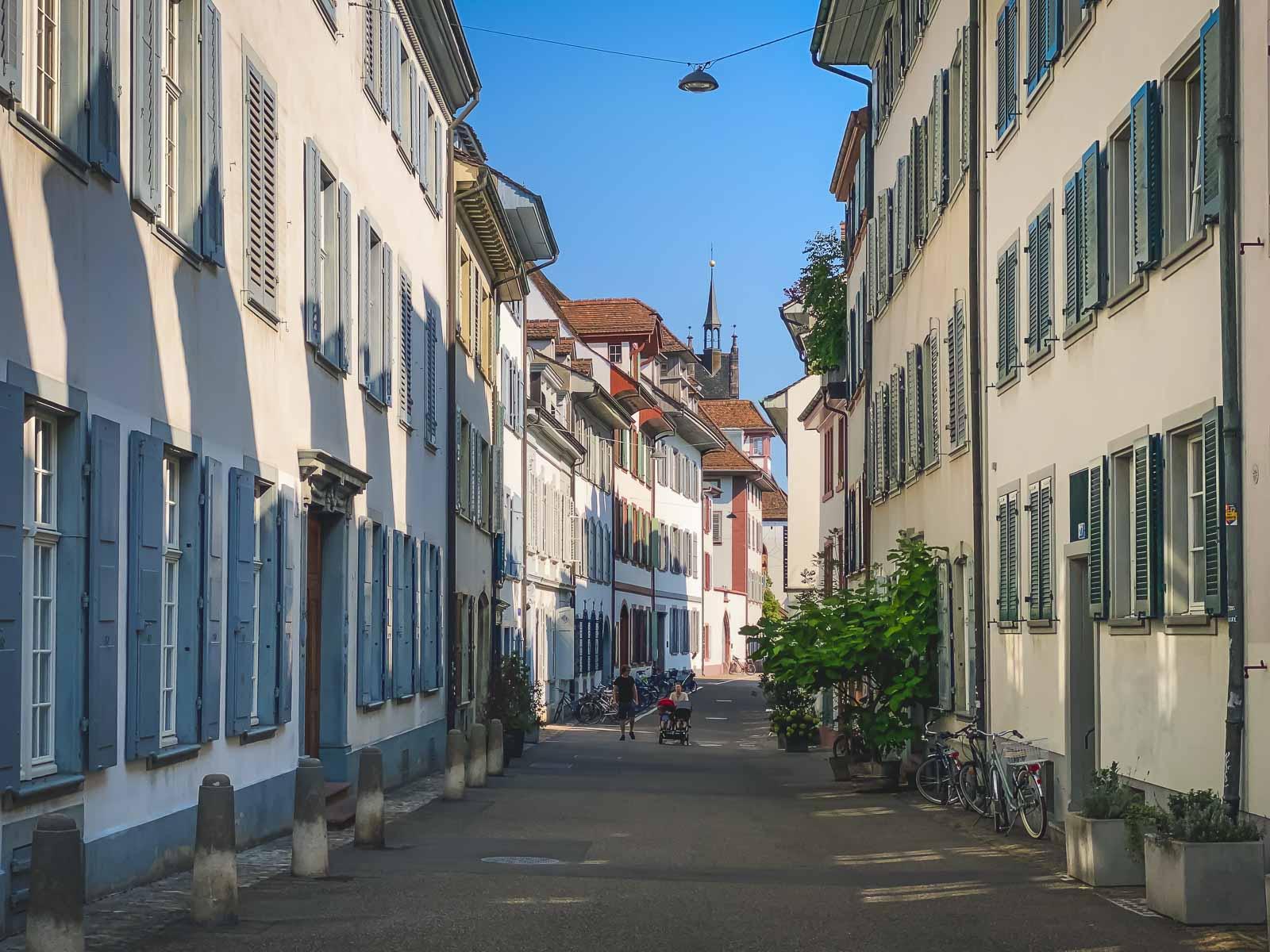 Walking Tour of Old Town Basel