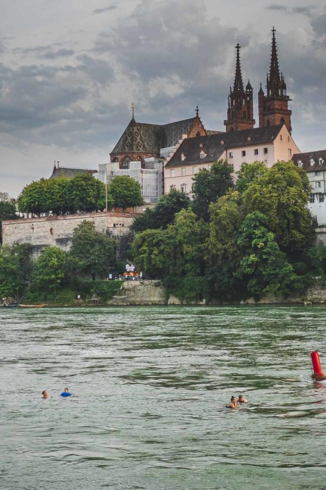 Float down the Rhine in Basel
