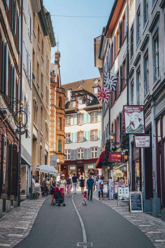 Things to do in Basel Shopping in Spalenberg