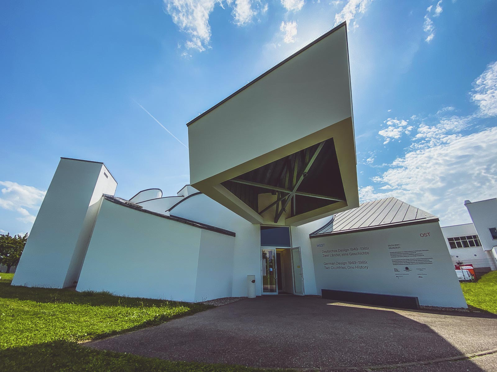 Vitra Design Museum in Germany from Basel