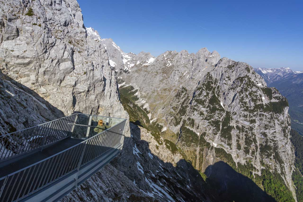 Explore the views from Alpspitze in Garmisch Partenkirchen