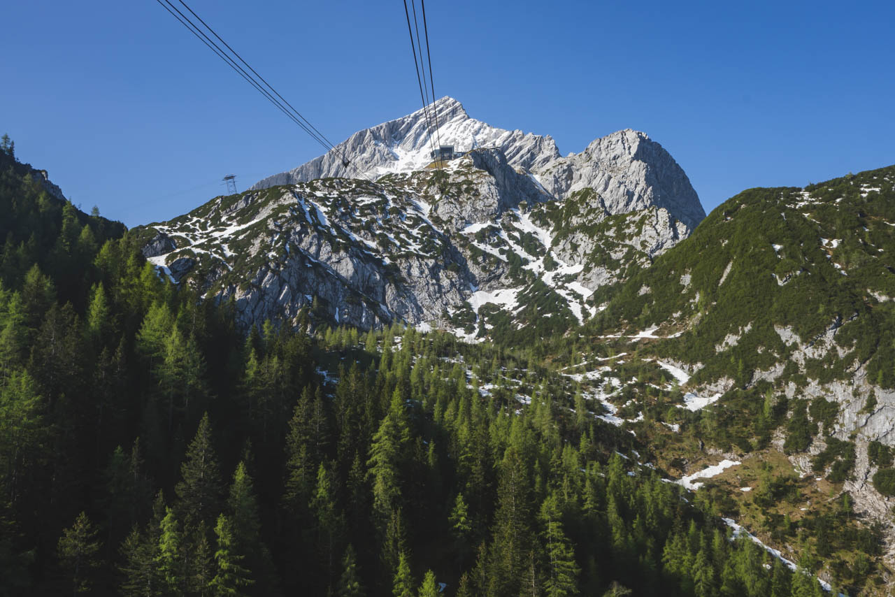 Take a Gondola ride while in Garmisch Partenkirchen
