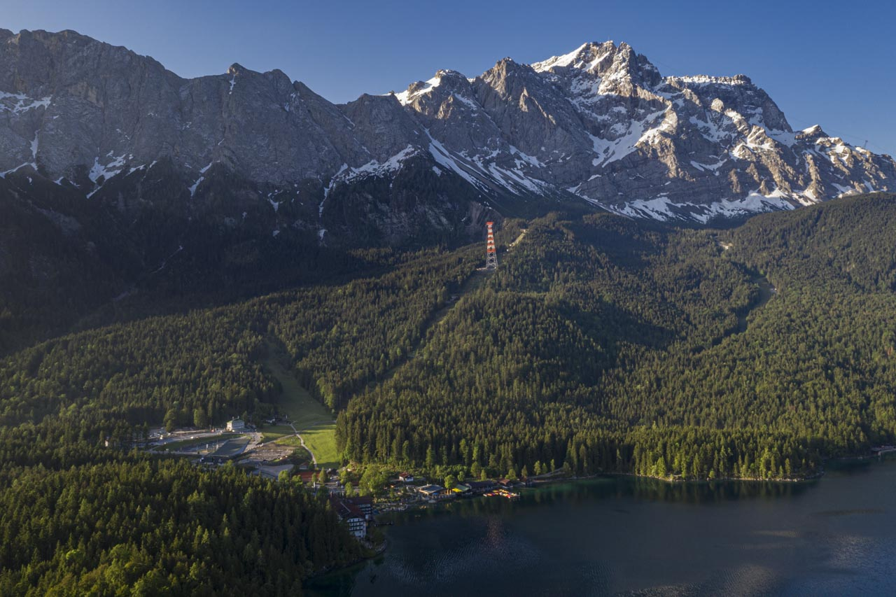 Zugspitze is Germany's highest peak