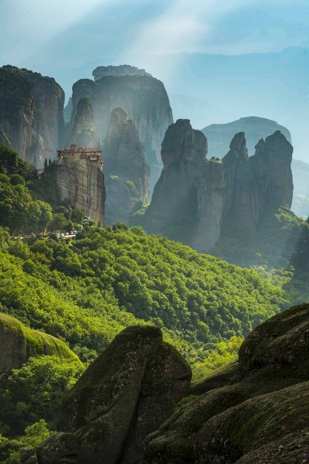 places to visit in greece meteora