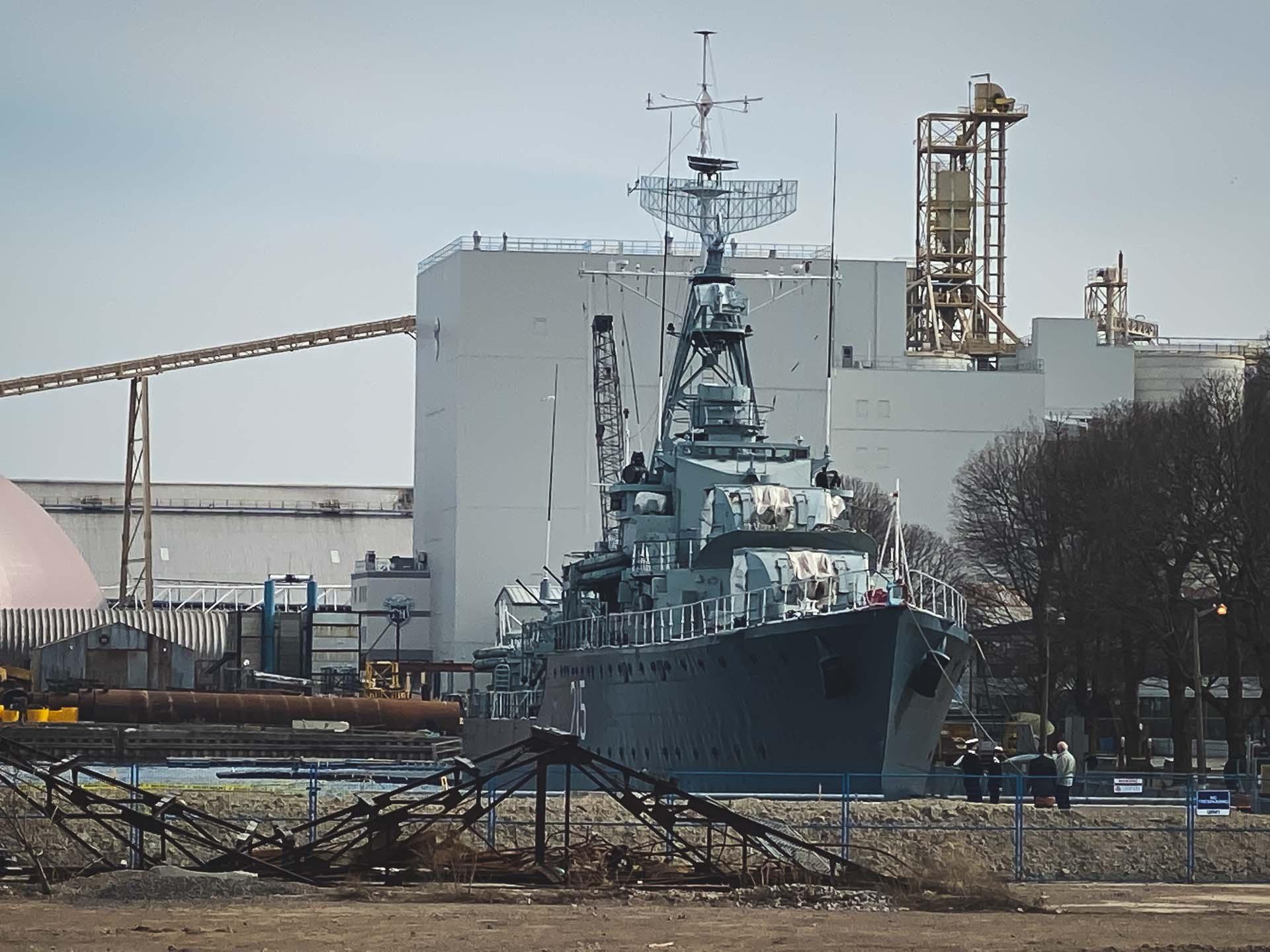 HMCS Haida Hamilton Harbour