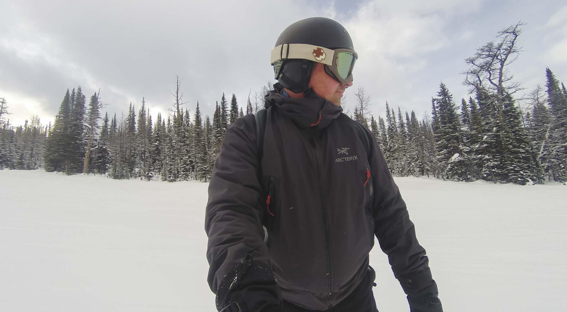 snowboarding in Alberta