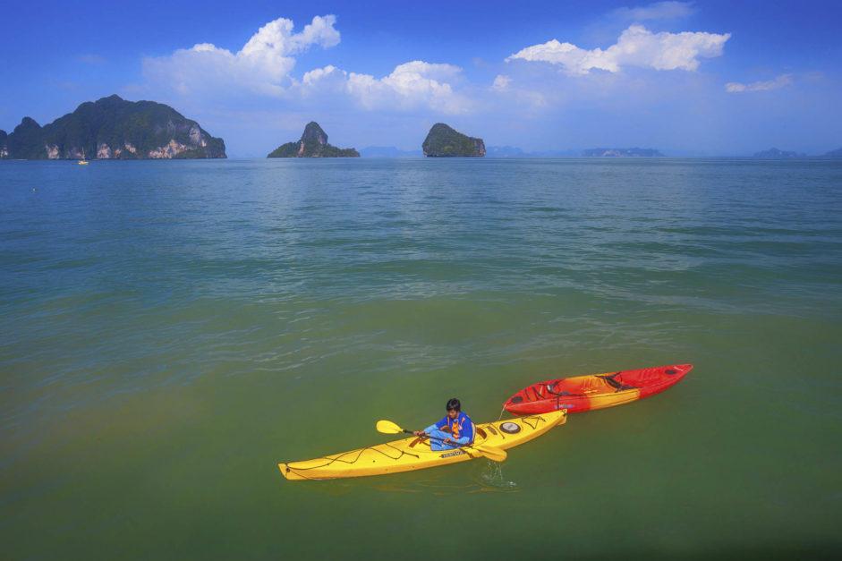 Ao Thalane Bay in Krabi, Thailand