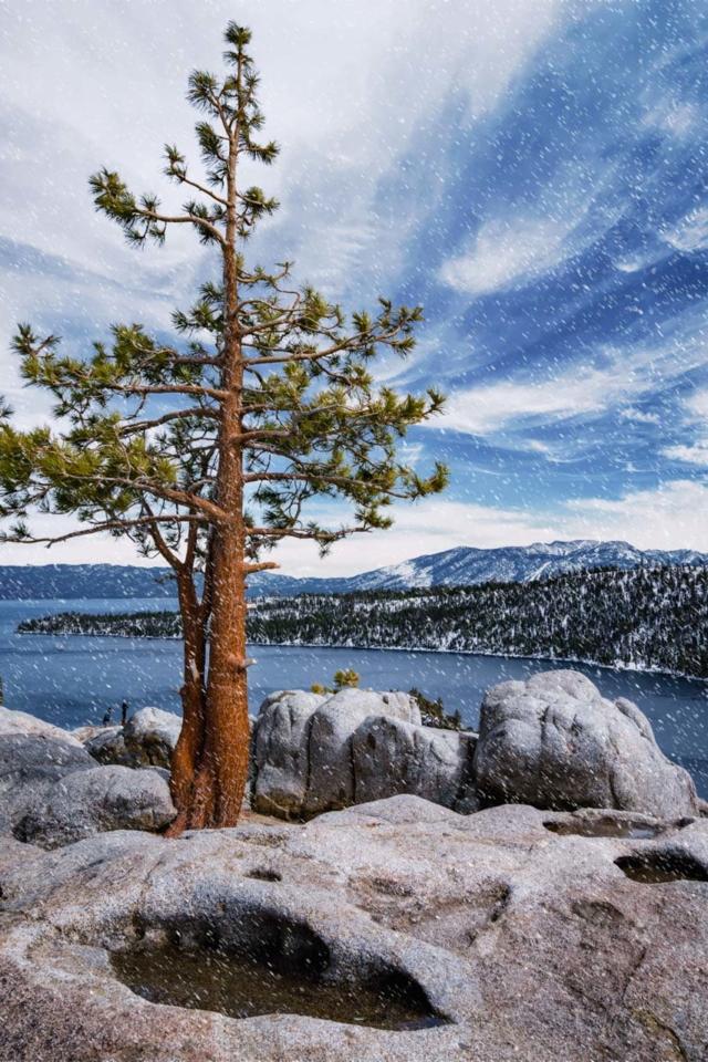 Things to do in Lake Tahoe Snowshoe Emerald Bay