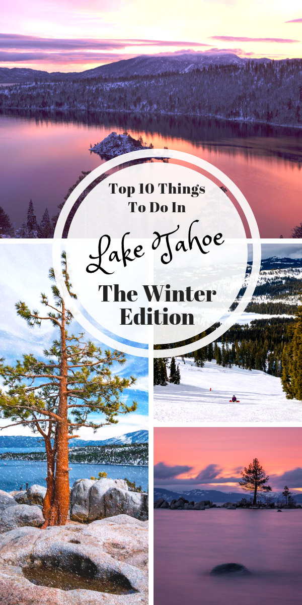 Things to do in Lake Tahoe Winter