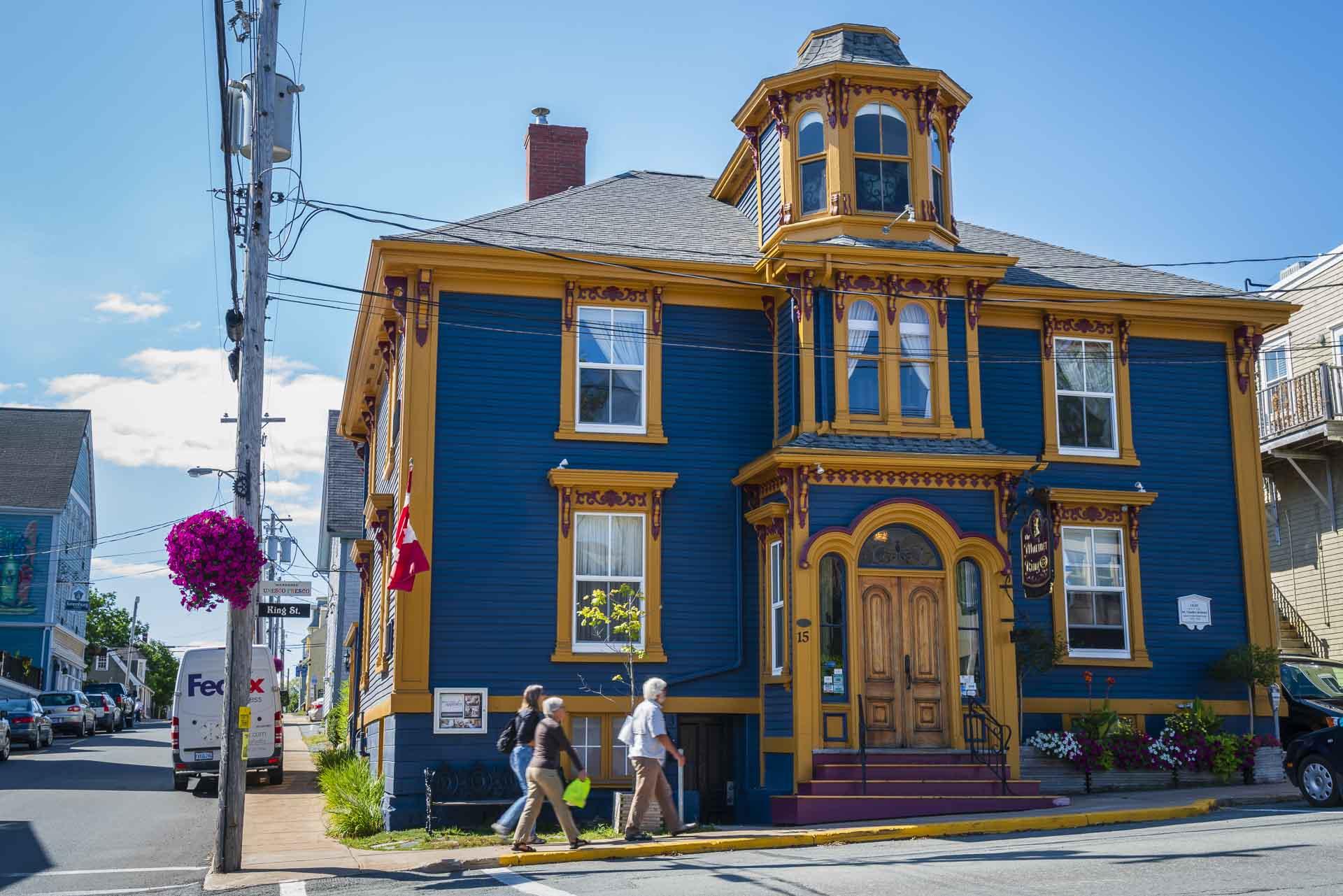downtown lunenbur Nova Scotia
