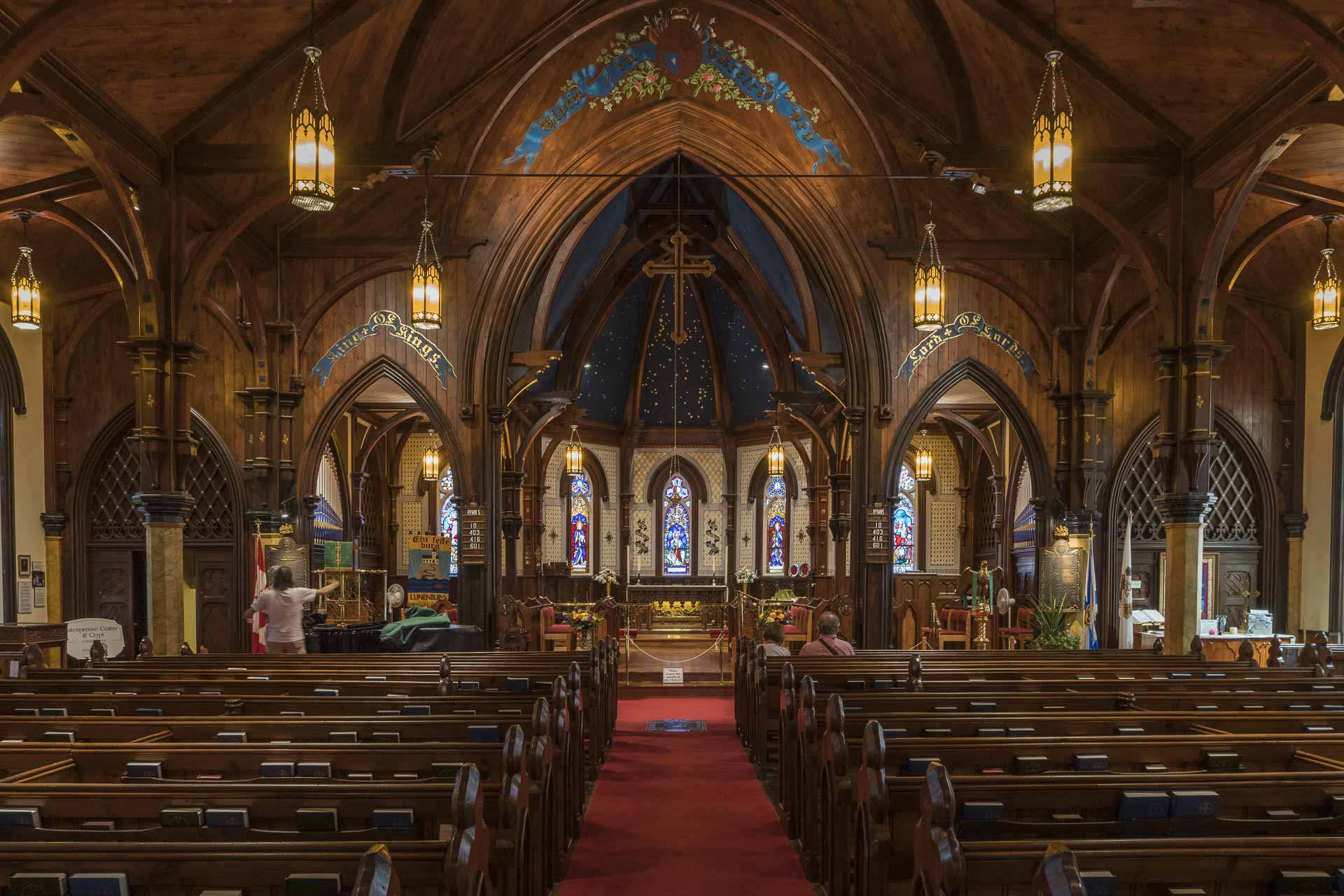 interior of St John's Anglican Church