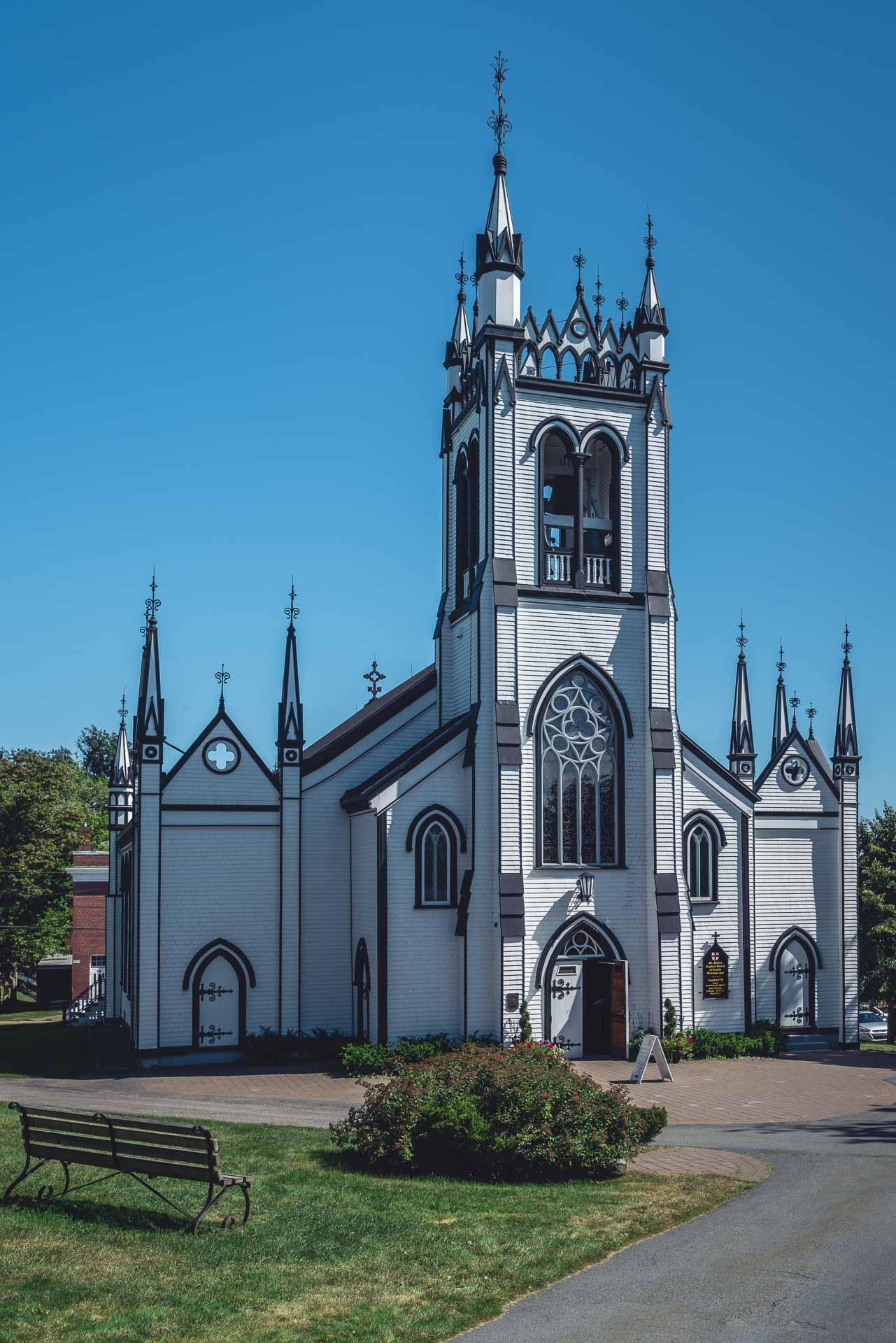 st johns anglican church lunenburg exterior