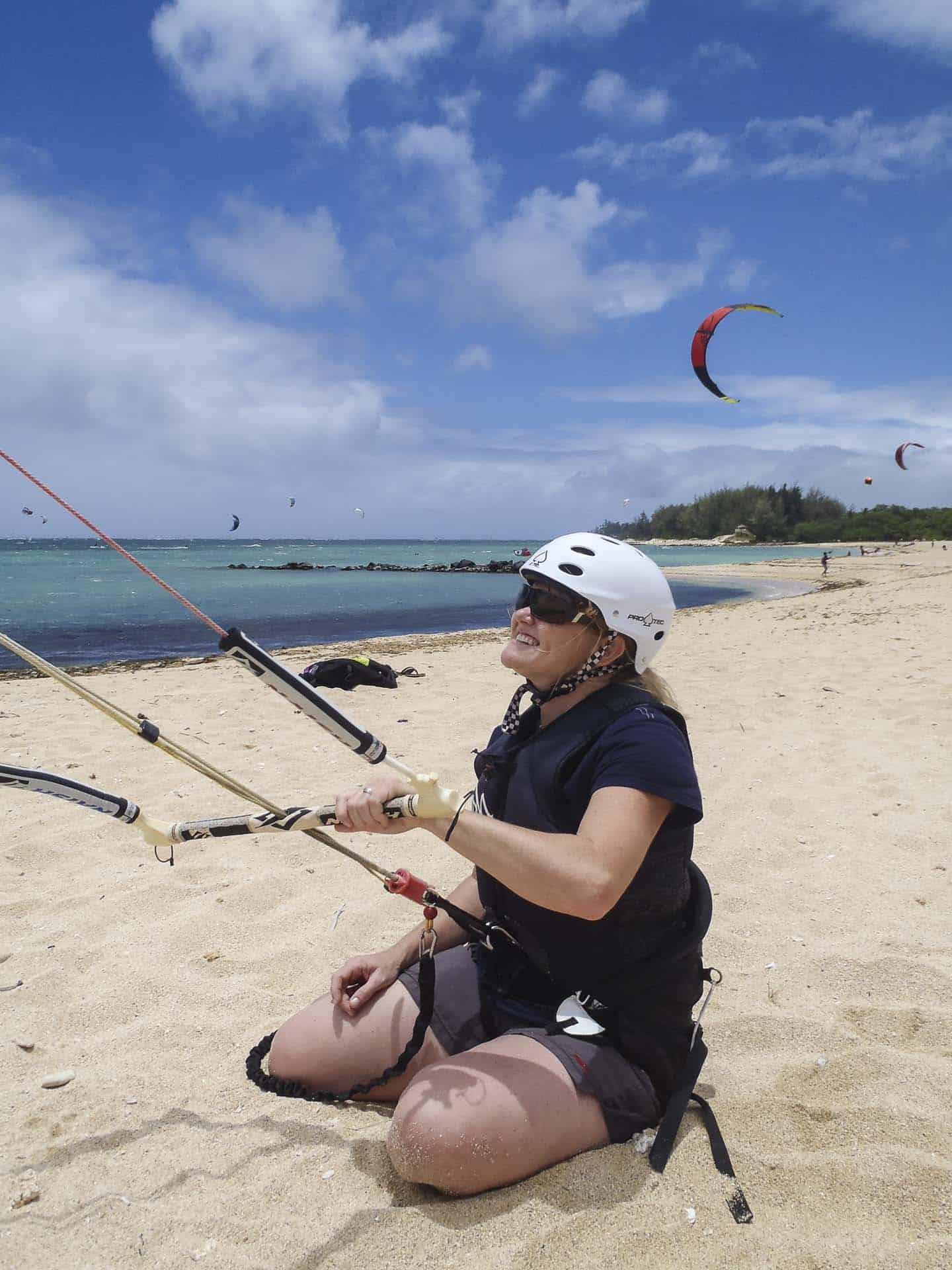 Kiteboarding in Maui