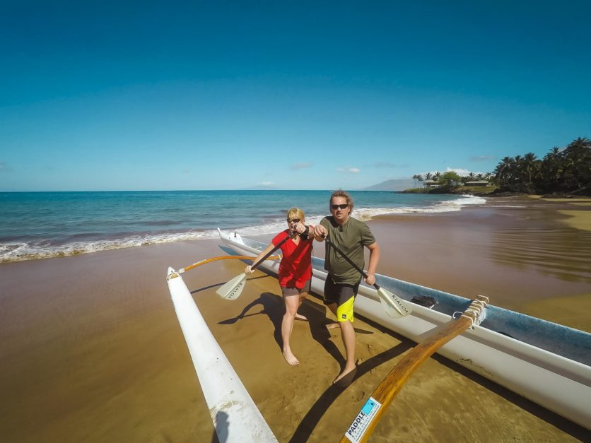 Outrigger Canoe trip in Maui