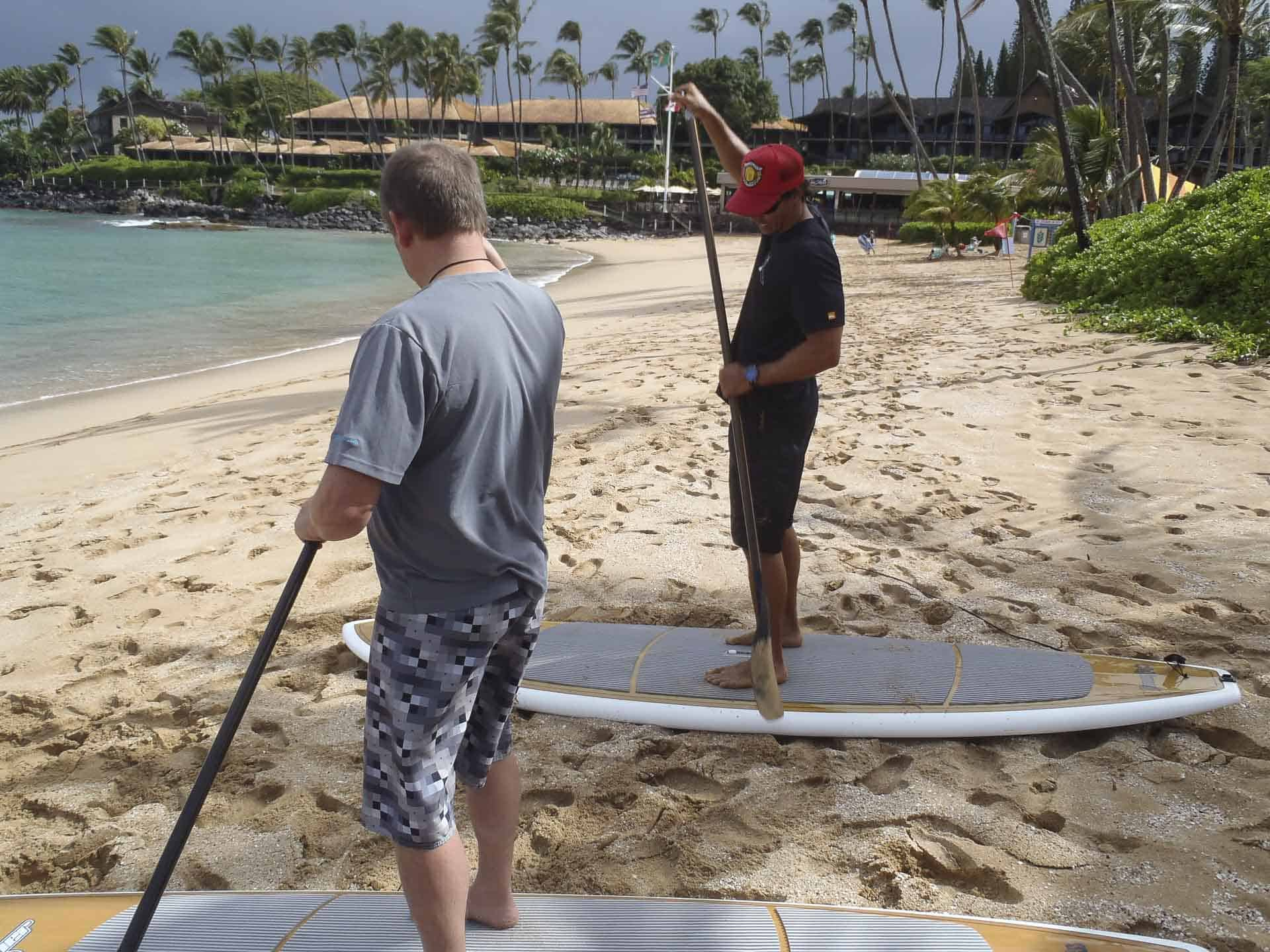 Stand Up Paddle boarding Maui