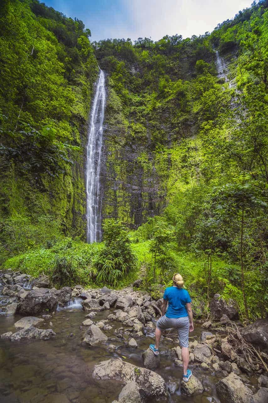 Hike to Waterfalls in Maui