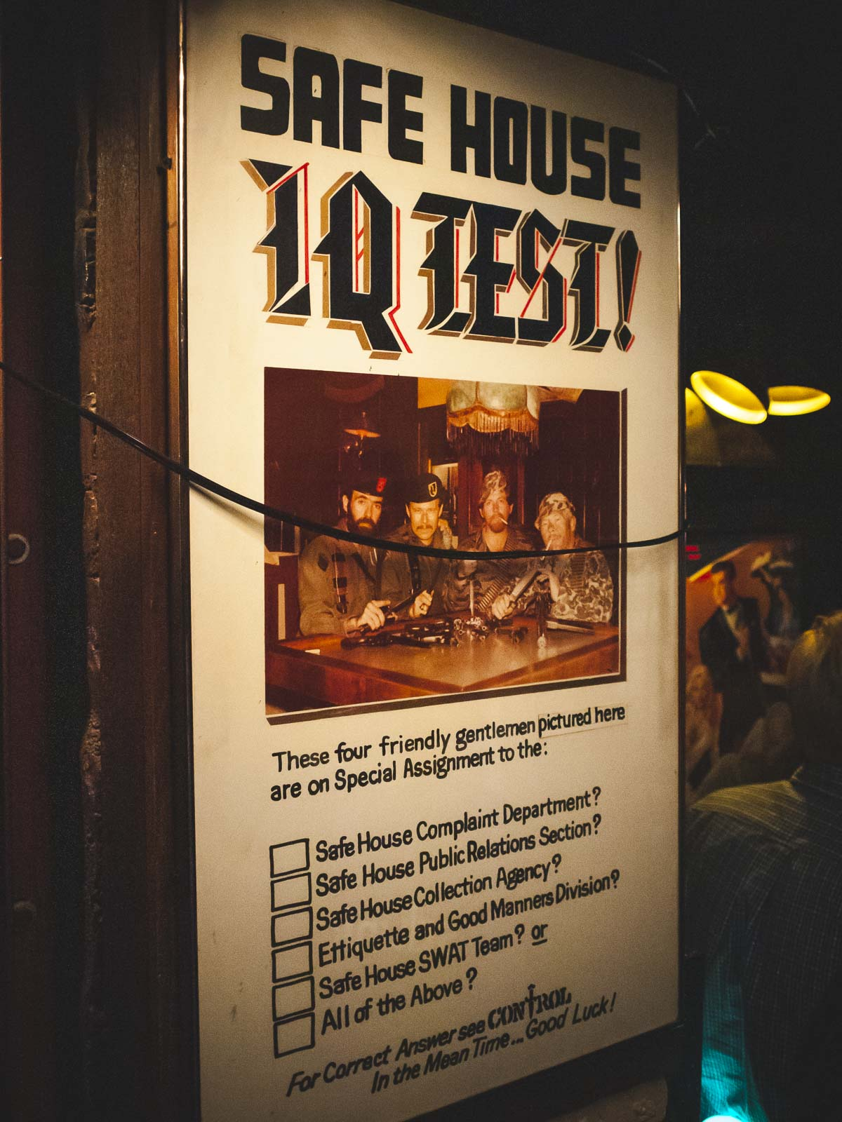 The Safe House Speakeasy in Milwaukee