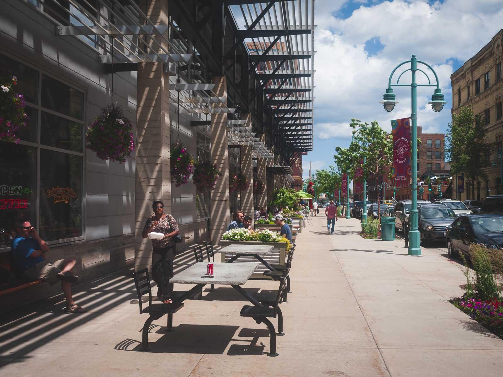 The Third Ward in Milwaukee