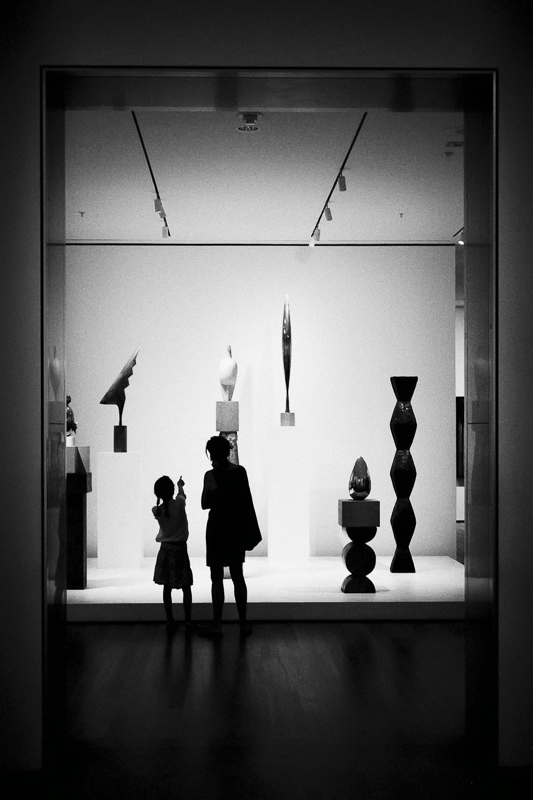 Inside the galleries on MOMA