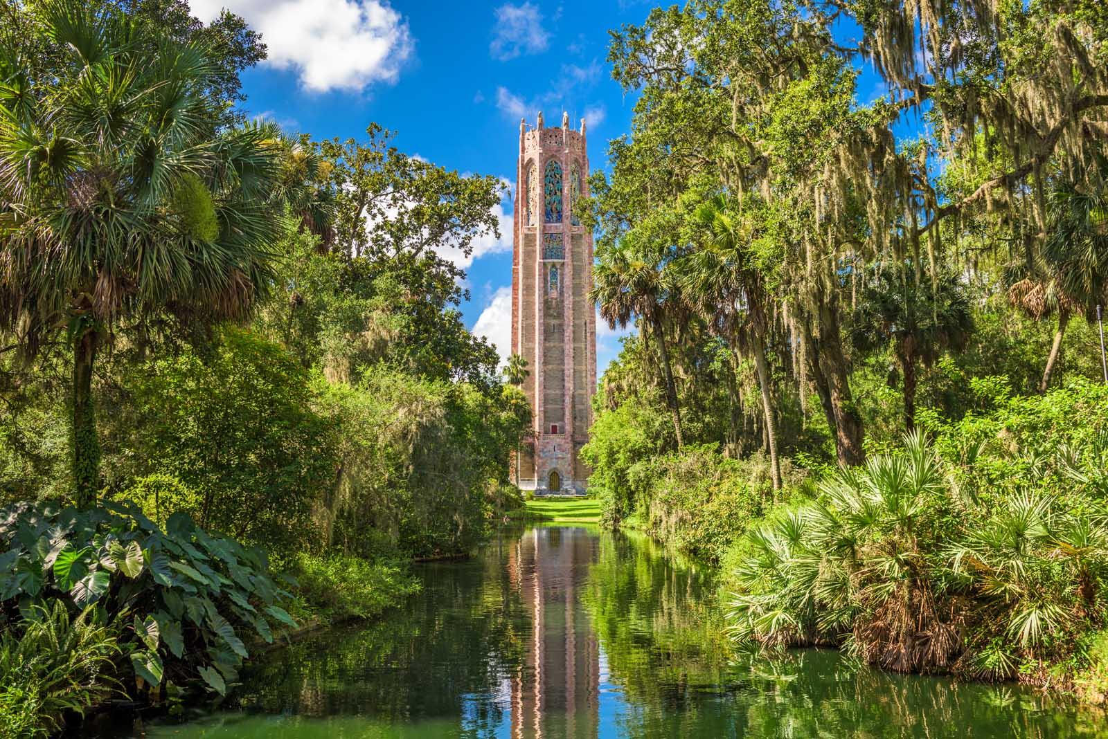 Bok Tower Gardens near Orlando Florida