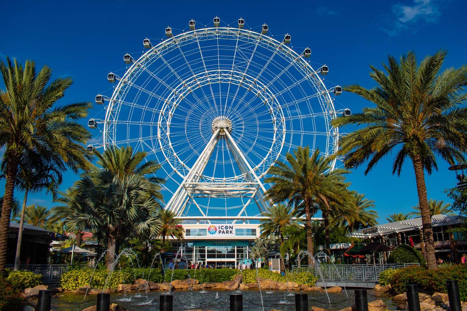 The Wheel at Icon Park in Orlando Florida