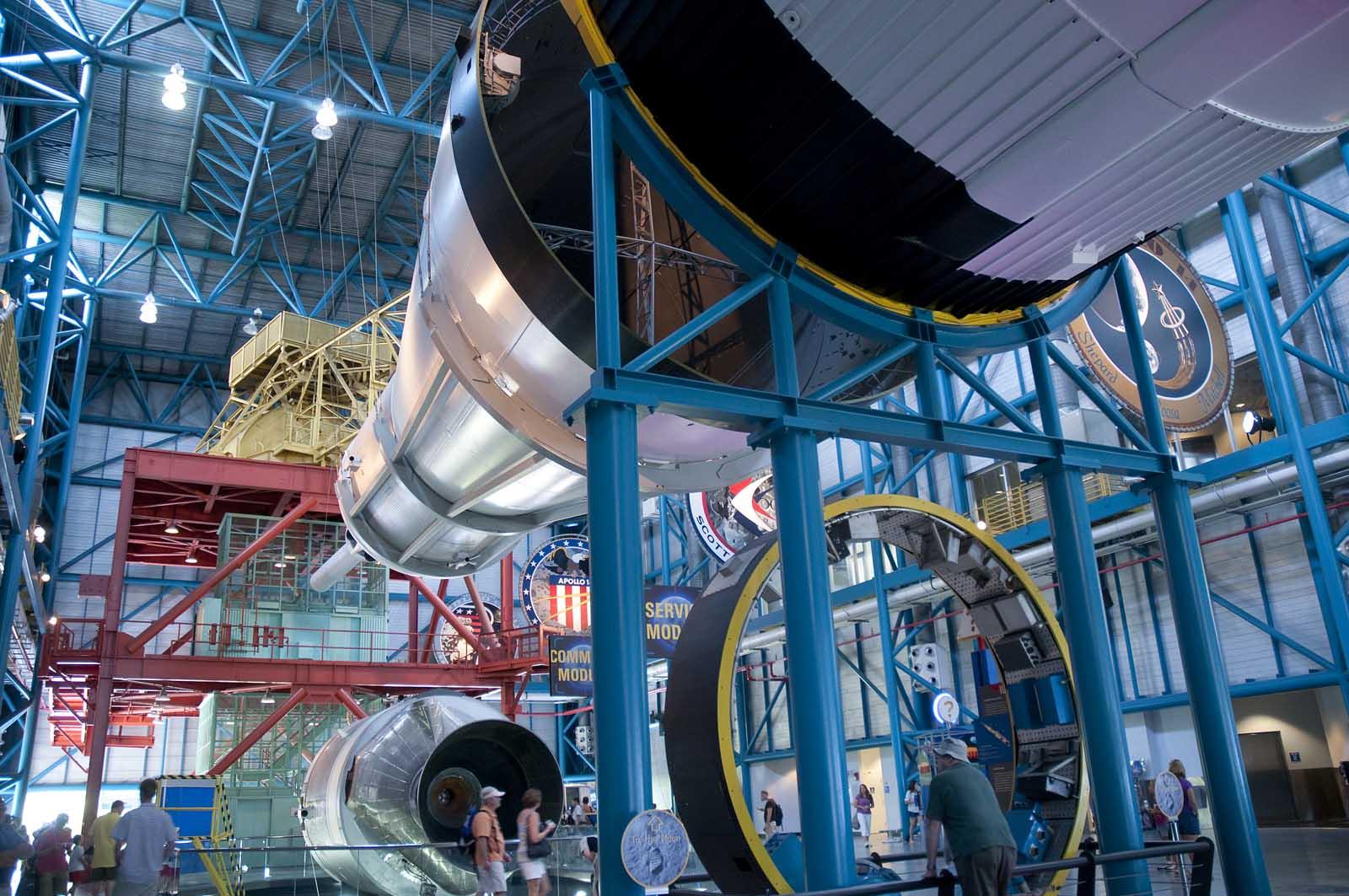 The Kennedy Space Center in Orlando Florida