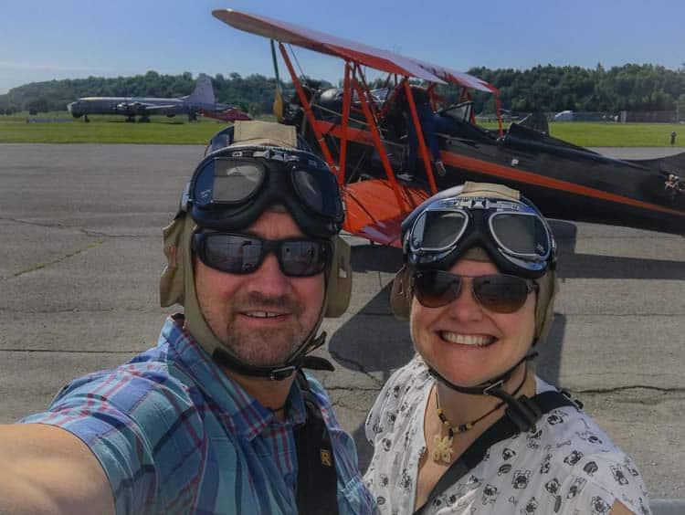 things to do in Ottawa Ontario | biplane