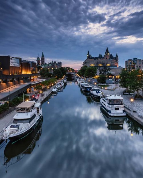 things to do in Ottawa walk rideau canal