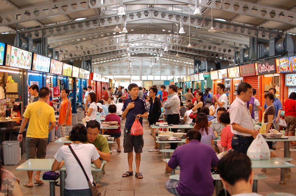 where to go in singapore hawker centre