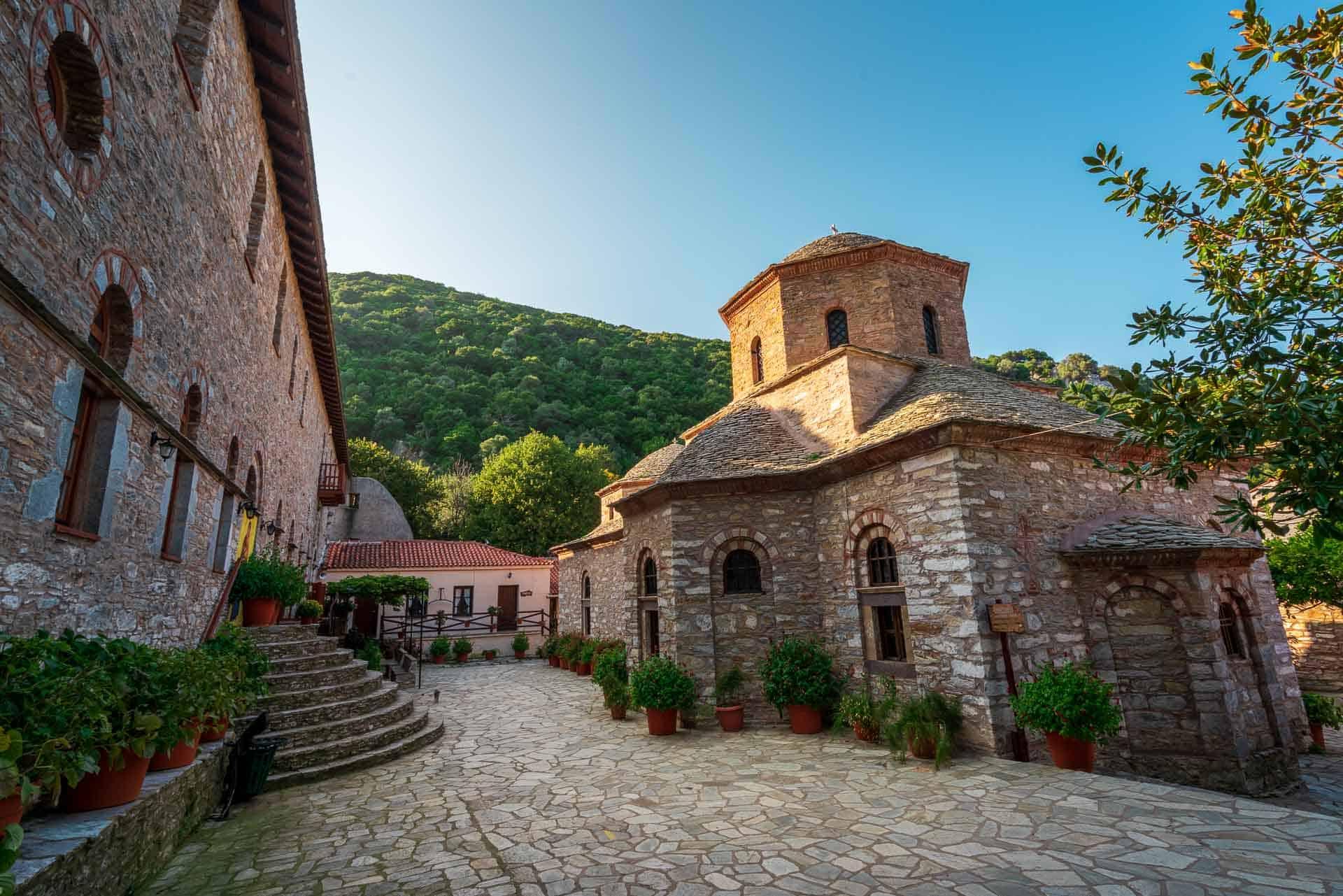 things to do in skiathos - monastery