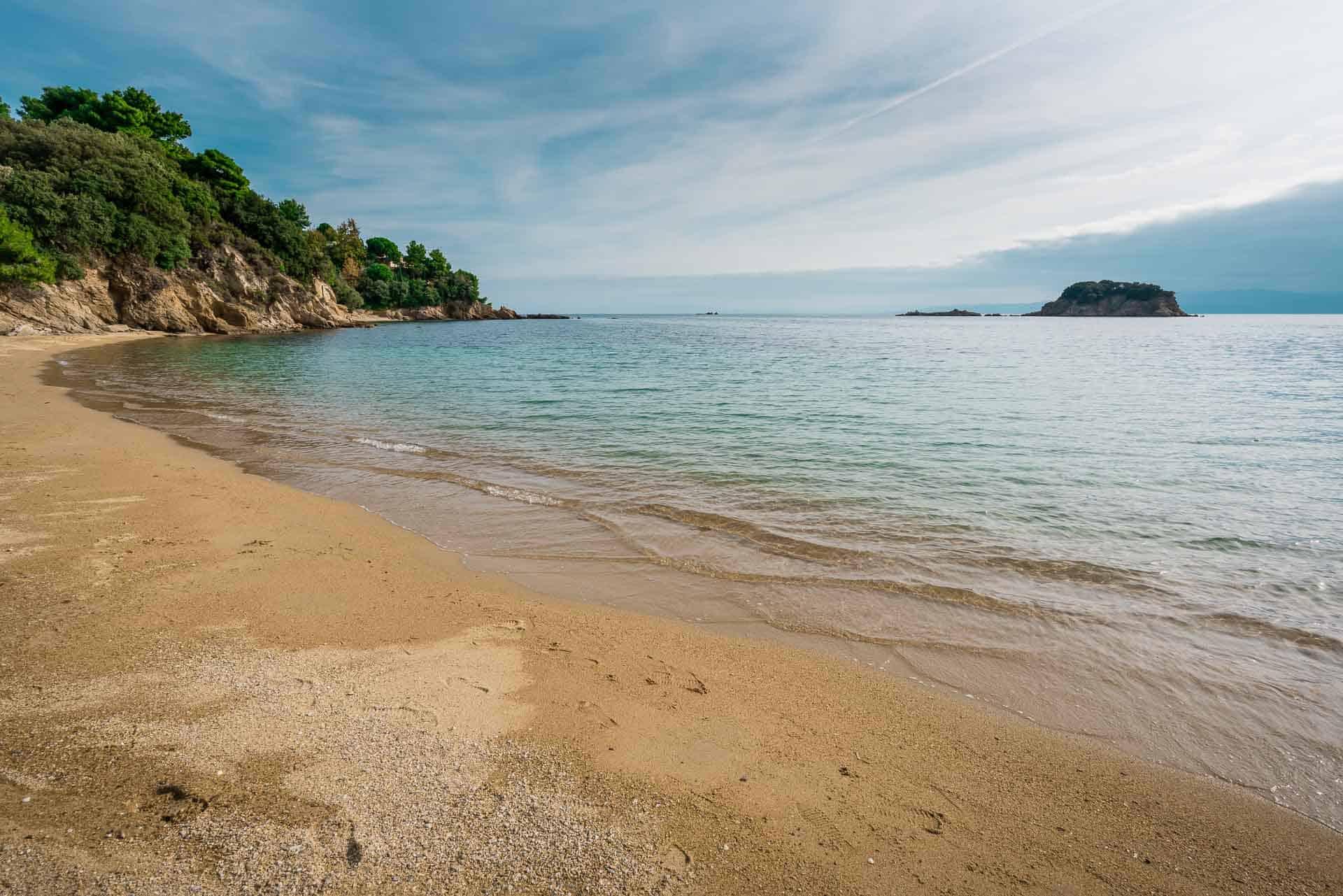 koukounaries beach - place to visit in skiathos