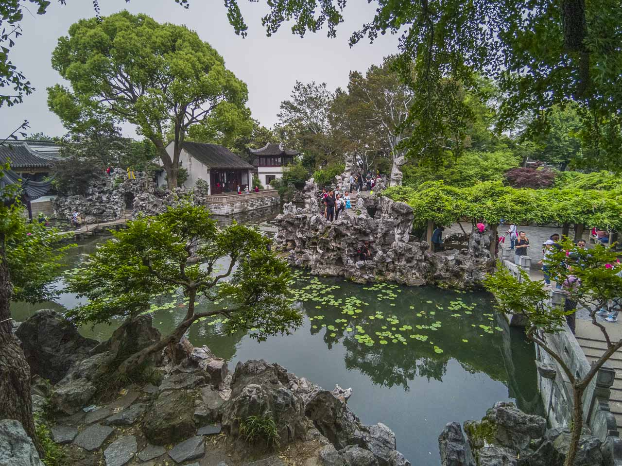 Lion Grove Gardens in suzhou china
