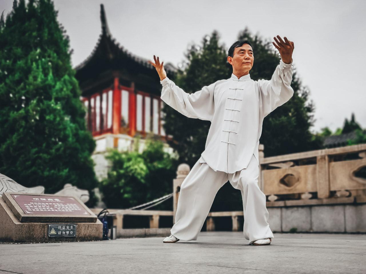 Master Yang Tai Chi Suzhou China