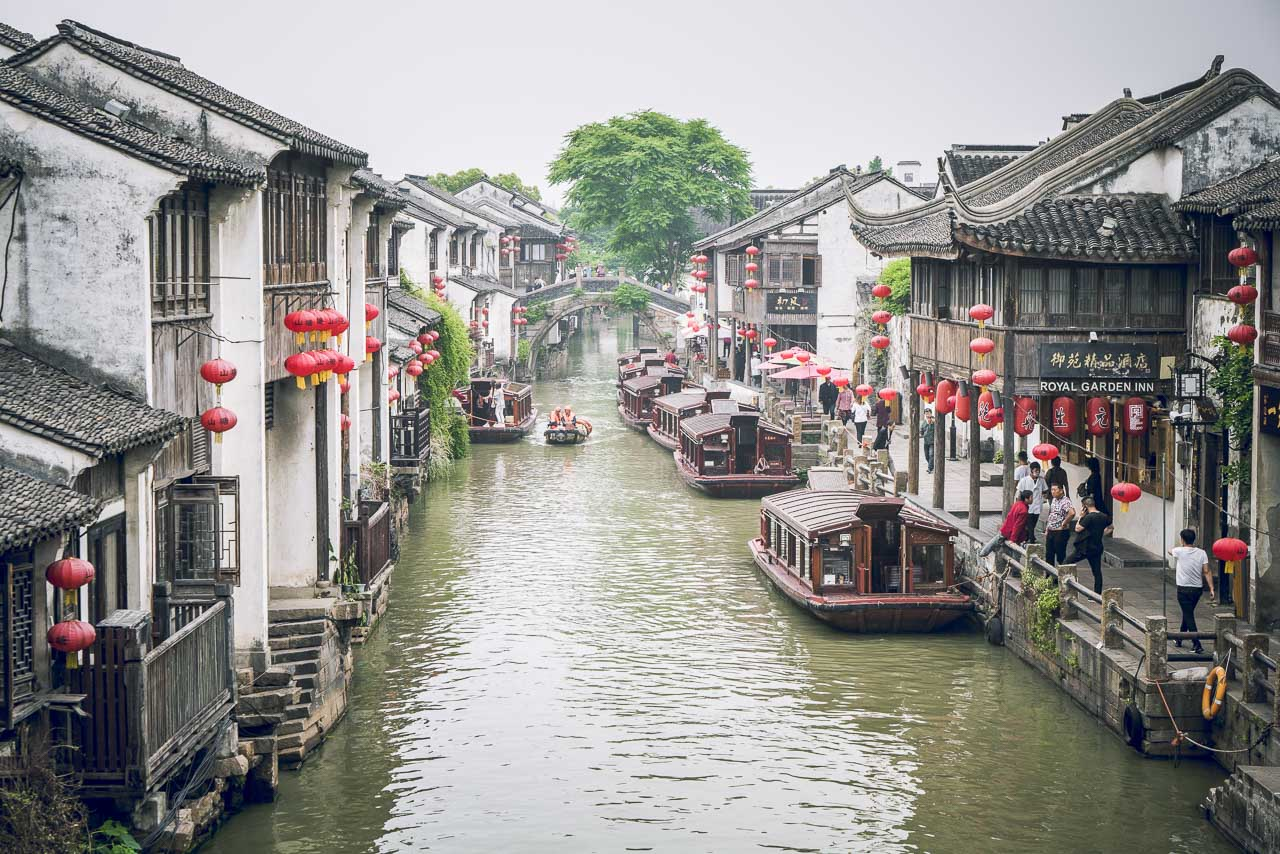 Things to do in Suzhou China Shantang Street
