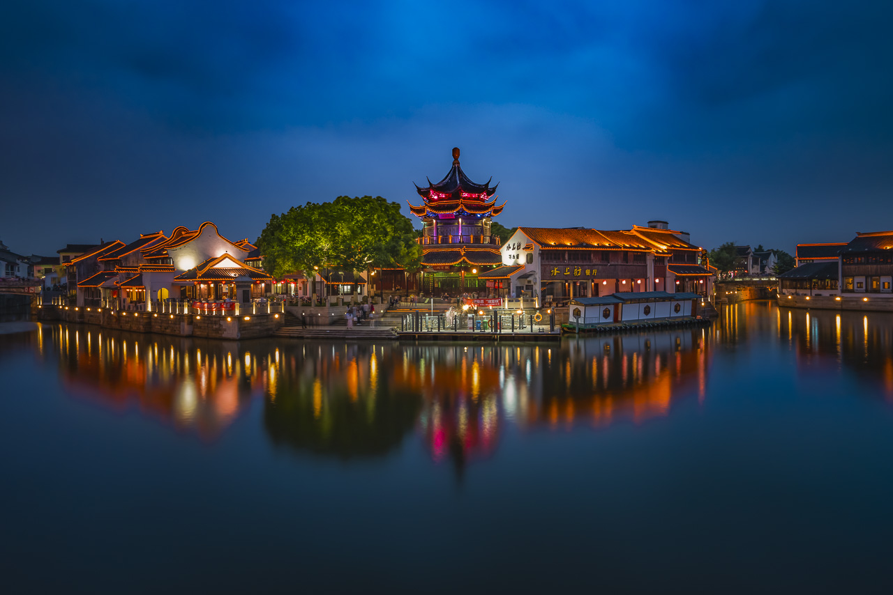 Chaozong Pavilion in Suzhou China