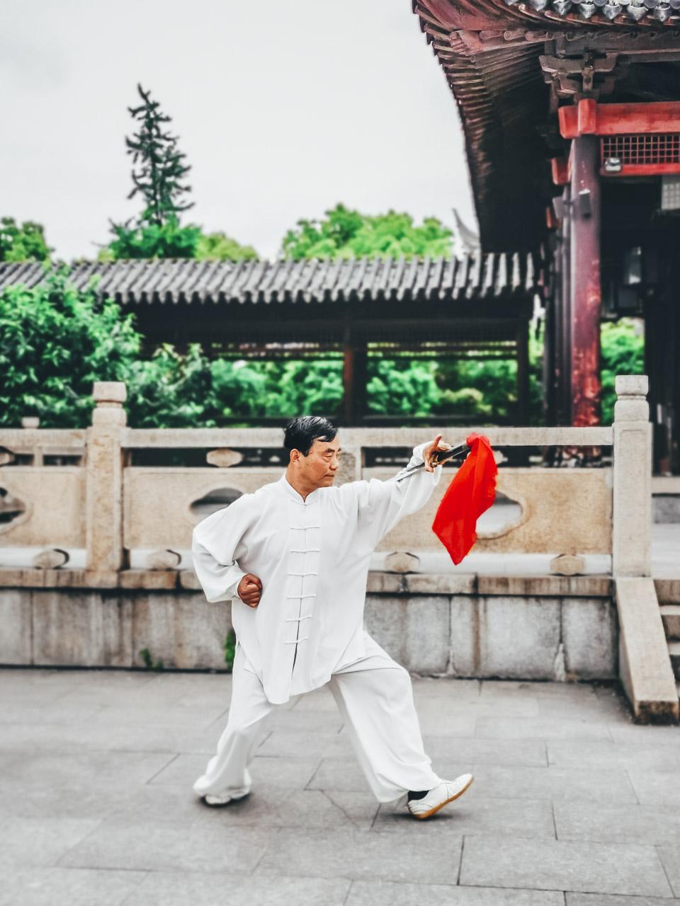 Master Yang is a Tai Chi Master