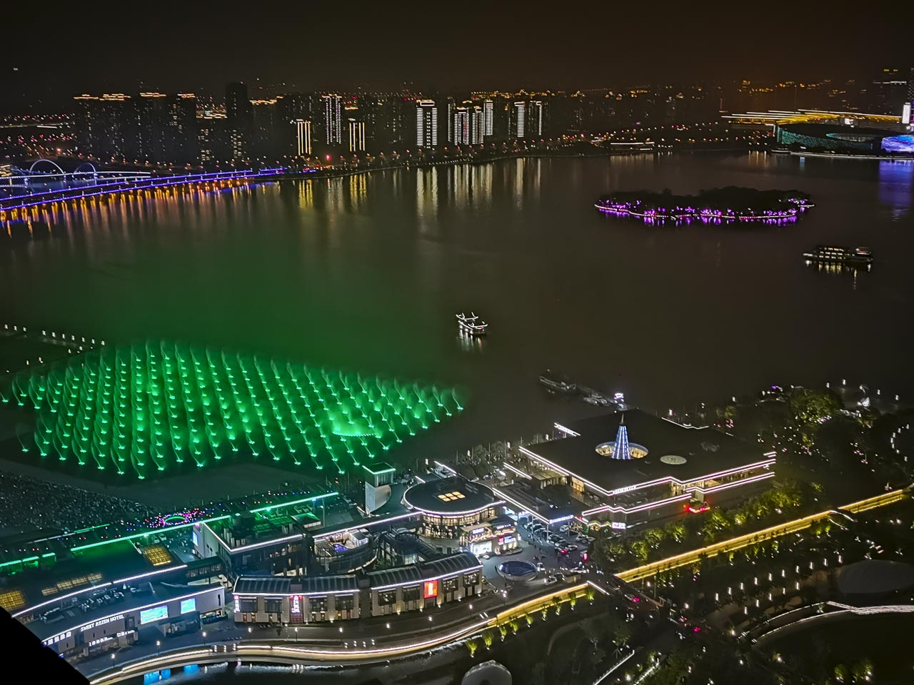 The Suzhou Light show