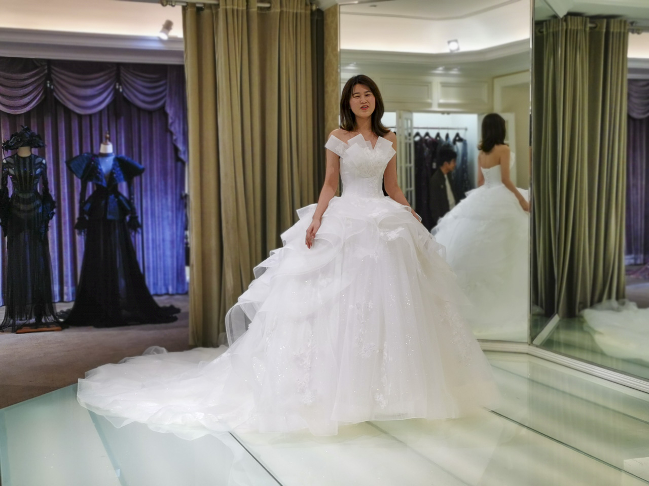 The Wedding Dress Room at Jusere