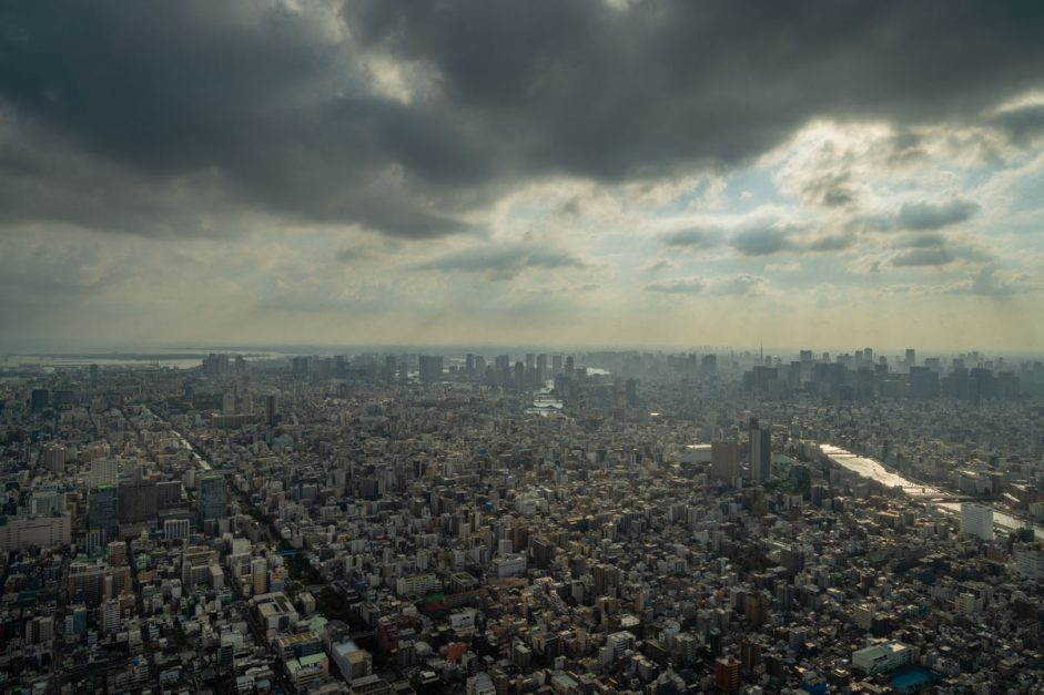 View from the Skytree in Tokyo