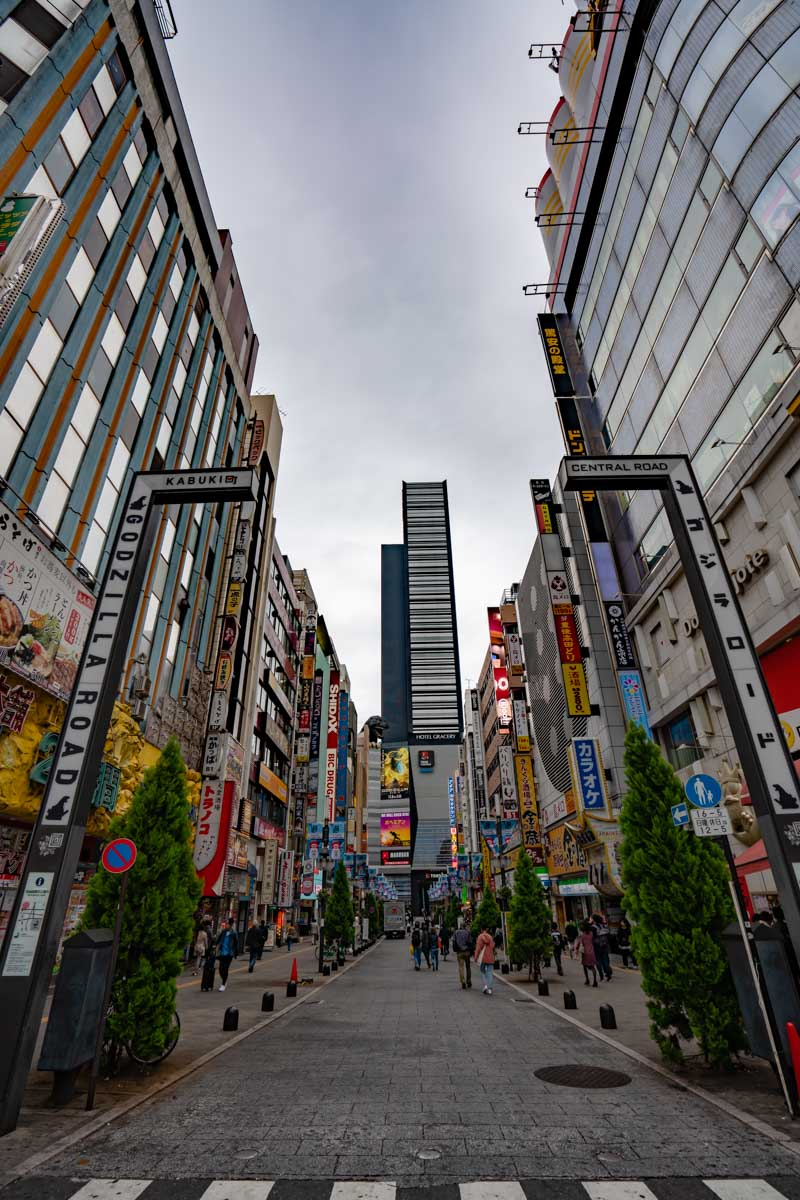 Things to do in Tokyo Godzilla Street