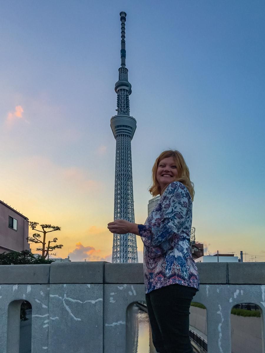 Jikken Bridge at Sunset things to do in Tokyo