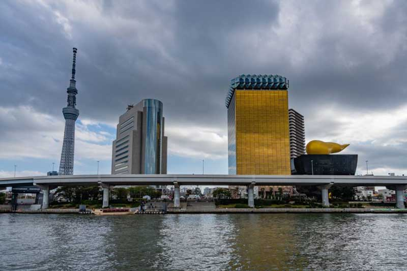 Visit the Sumida River in Tokyo