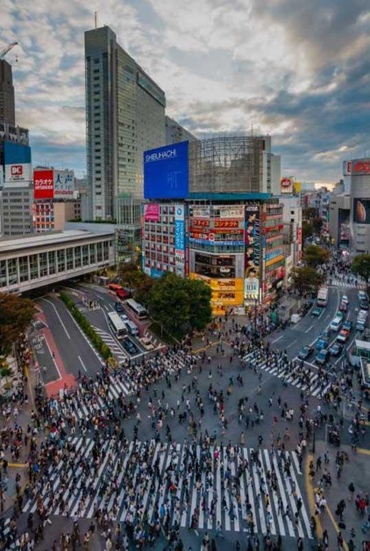 Shibuya Crossing tokyo attractions