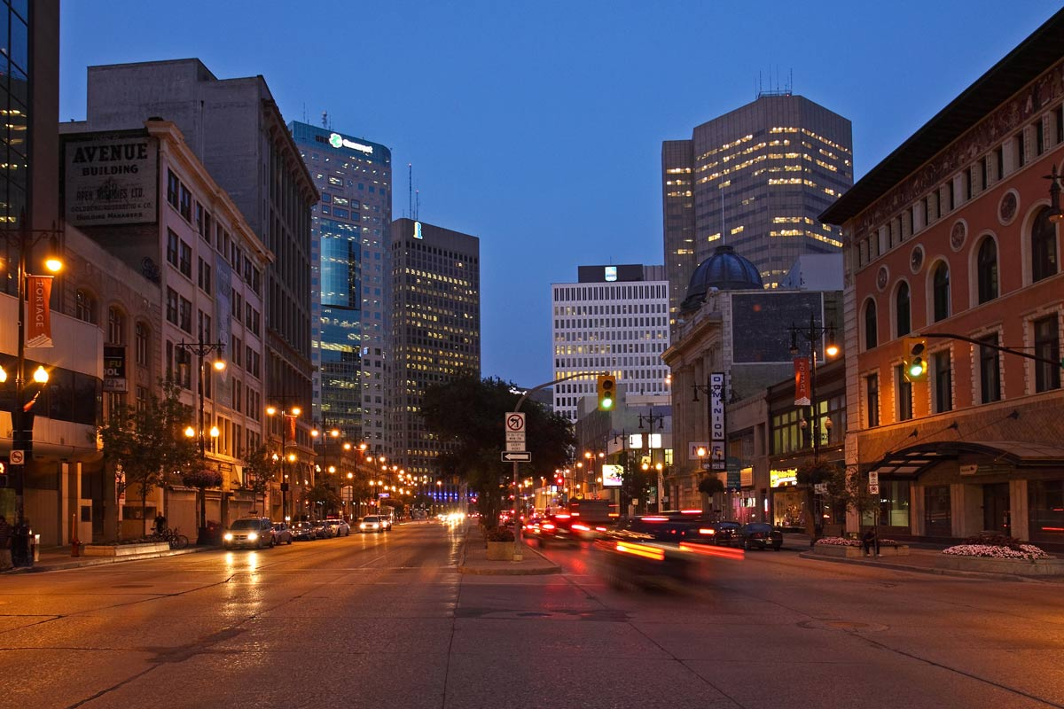 Where to stay in Winnipeg Downtown