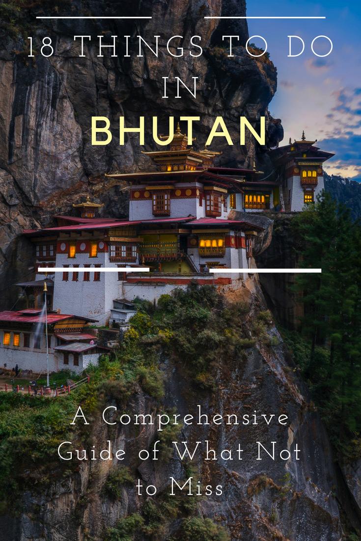 Things to do in Bhutan Guide