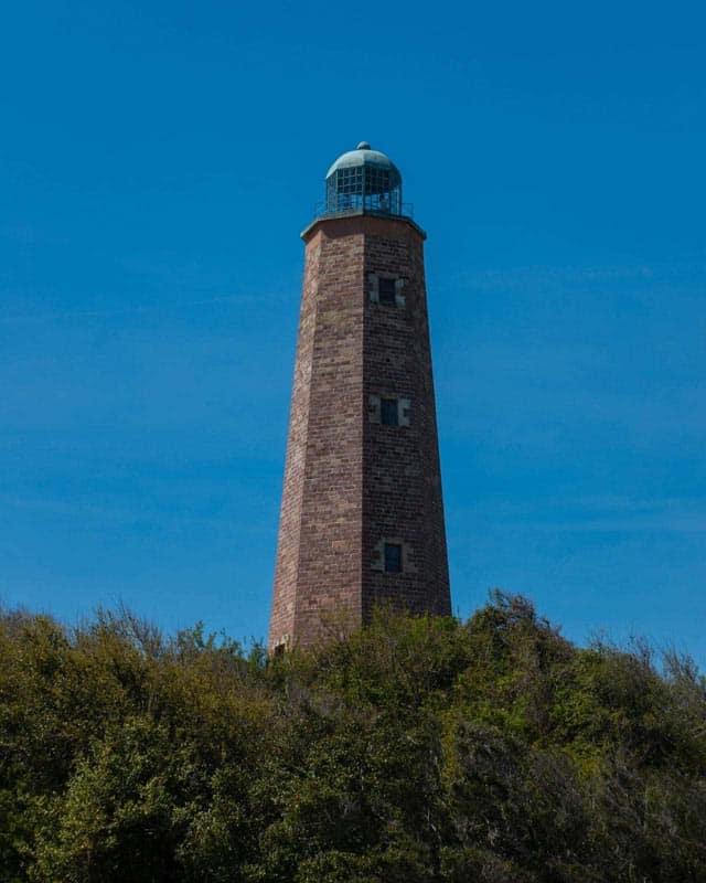 lighthouse in historical virginia beach