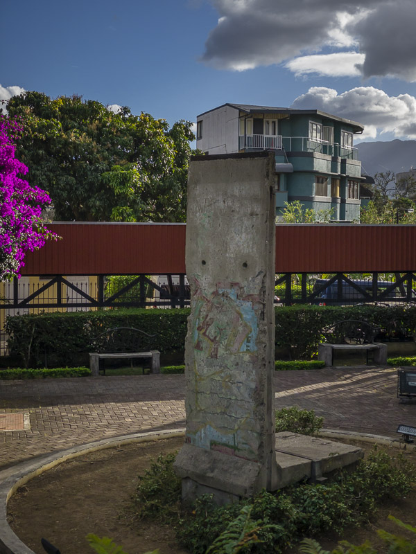 A Piece of the Berlin Wall in San Jose